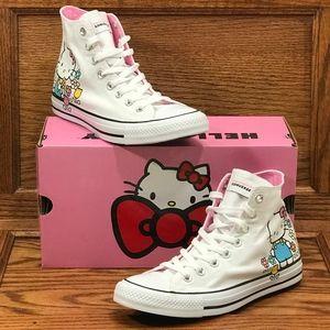 Converse Chuck Taylor All Star Hi Hello Kitty Shoe